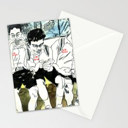 Numbered BTS Boys Stationery Cards