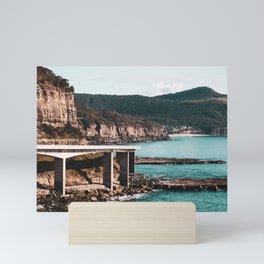 Sea Cliff Bridge. New South Wales. Australia. Mini Art Print