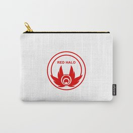 Red Halo Logo Carry-All Pouch
