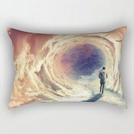 Shortcut to the Sea Rectangular Pillow