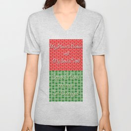 The Palmer Squares - The Dark Room Unisex V-Neck