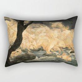 Hunter's Call Rectangular Pillow
