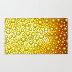 Cheerful bubbles Canvas Print