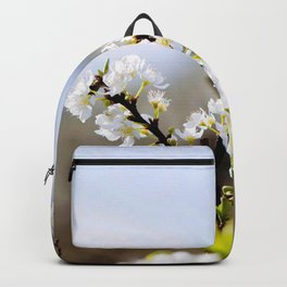 Plum flower, Photo Plum flower, Plum flower hill, beautiful view, Poster print, Canavas Print, Wall Hanging Backpack