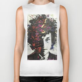 The Colors in Your Mind Biker Tank