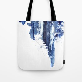 Blue abstract nr1 Tote Bag