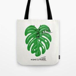 Monstera Tote Bag