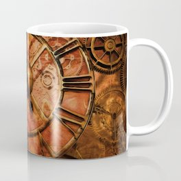 The Timepiece - Steampunk Clock Coffee Mug