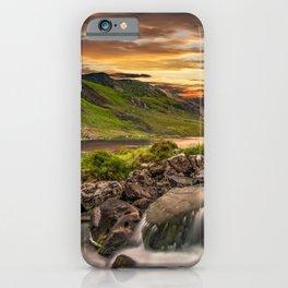 Tryfan and Llyn Ogwen Snowdonia iPhone Case