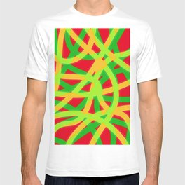 lively lines T-shirt