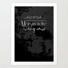 Harry Potter Curses: Morsmordre Art Print