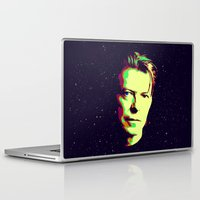 david bowie Laptop & iPad Skins featuring Bowie by victorygarlic - Niki