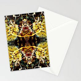 Chaos Tree Kaleidoscope 4 Stationery Cards
