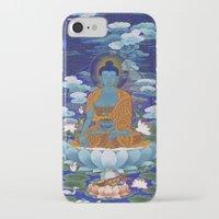 medicine iPhone & iPod Cases featuring Medicine Buddha by Kalsang Dawa