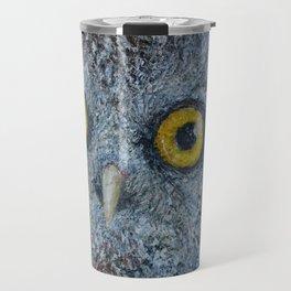 Boreal Owl (Aegolius funereus) Travel Mug