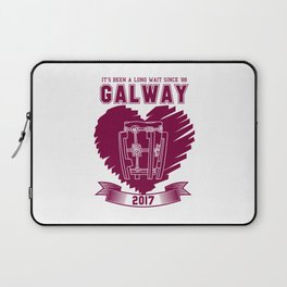 All Ireland Senior Hurling Champions: Galway (White/Maroon) Laptop Sleeve