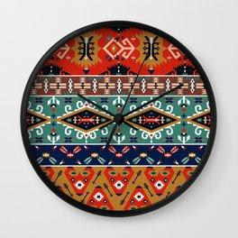 Navajo Arrow Pattern Wall Clock