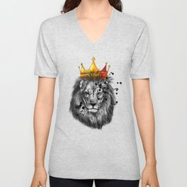 lion king Unisex V-Neck