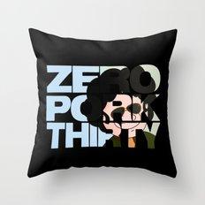Zero Pork Thirty Throw Pillow