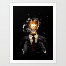 Everything Breaks Art Print