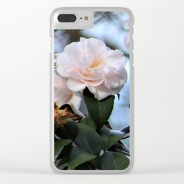 Flower No 3 Clear iPhone Case