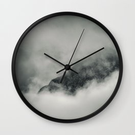 Lost in the Clouds Wall Clock