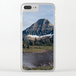 On The Hidden Lake Trailhead Clear iPhone Case