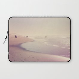 A Day at the Pink Beach Laptop Sleeve