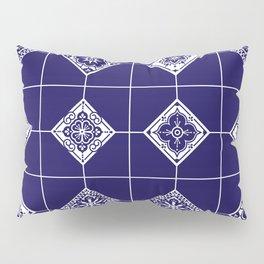 Talavera Mexican Tile – Porcelain Palette Pillow Sham