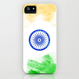 India Flag - WaterColor iPhone Case