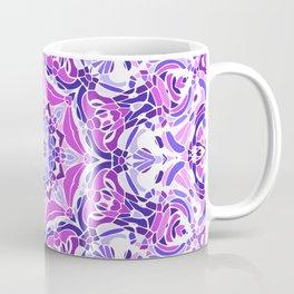 Purple Pink and White Mandala Coffee Mug