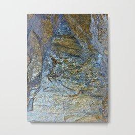 Stone Work Metal Print