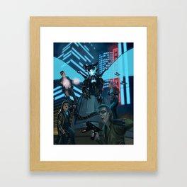 Hypercorps 2099 Framed Art Print