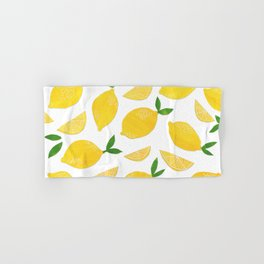 Lemon Cut Out Pattern Hand & Bath Towel