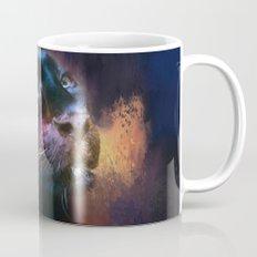 Colorful Expressions Black Leopard Mug