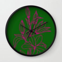 Festa do Lírio Wall Clock
