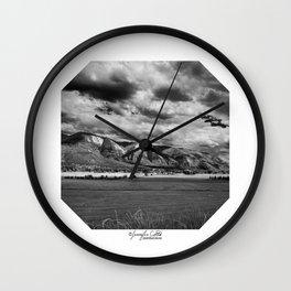 Durango Colorado Farming Wall Clock