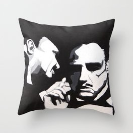 The Godfather - Secrets Throw Pillow