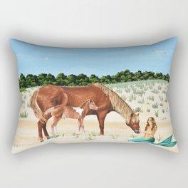 Assateague Island Rectangular Pillow