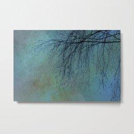 Hanging Tree  - JUSTART © Metal Print