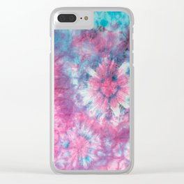 happy hippie Clear iPhone Case
