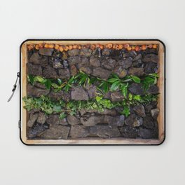 Coal and Leaves 01 Laptop Sleeve