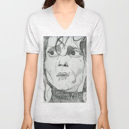 EDWARD SCISSOR HANDS Unisex V-Neck