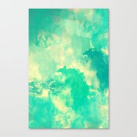underwater Canvas Prints featuring Underwater by Galaxy Eyes