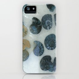 Sea Shell Disco Powder Blue iPhone Case