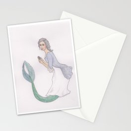 Sjöjungfrun Rokoko Stationery Cards