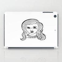 marina iPad Cases featuring Marina by Rosalia Mendoza