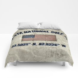 Augusta National Golf Club, Coordinates Comforters