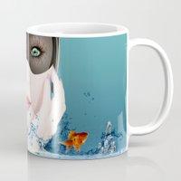 3d Mugs featuring 3D by mark ashkenazi