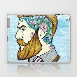 Hipster Man Laptop & iPad Skin